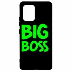 Чехол для Samsung S10 Lite Big Boss