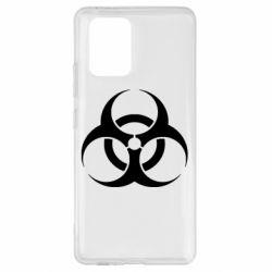 Чехол для Samsung S10 Lite biohazard