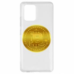 Чохол для Samsung S10 Bitcoin coin