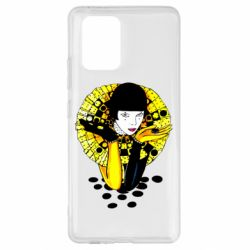Чехол для Samsung S10 Lite Black and yellow clown