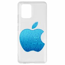 Чехол для Samsung S10 Lite Blue Apple