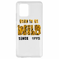 Чехол для Samsung S10 Lite Born to be wild sinse 1995