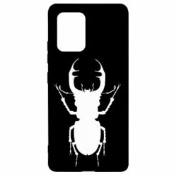 Чехол для Samsung S10 Lite Bugs silhouette