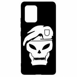 Чехол для Samsung S10 Lite Call of Duty Black Ops logo