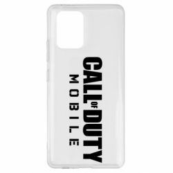 Чехол для Samsung S10 Lite Call of Duty Mobile
