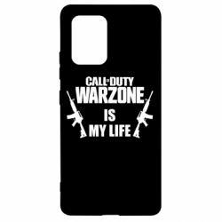 Чехол для Samsung S10 Lite Call of duty warzone is my life M4A1