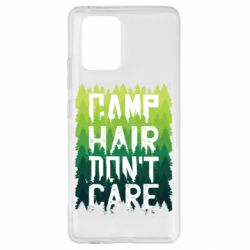 Чехол для Samsung S10 Lite Camp hair don't care