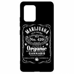 Чохол для Samsung S10 Cannabis label