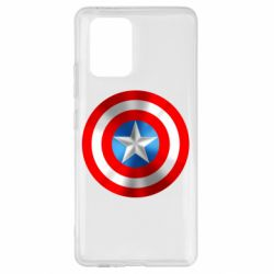 Чехол для Samsung S10 Lite Captain America 3D Shield