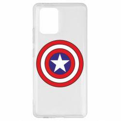 Чехол для Samsung S10 Lite Captain America