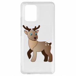 Чехол для Samsung S10 Lite Cartoon deer