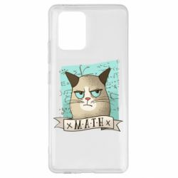 Чехол для Samsung S10 Lite Cat and Math