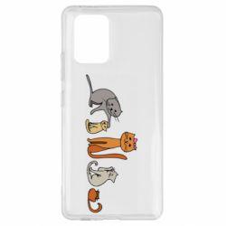 Чехол для Samsung S10 Lite Cat family