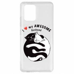 Чехол для Samsung S10 Lite Cats and love
