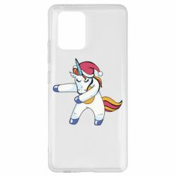 Чохол для Samsung S10 Christmas Unicorn