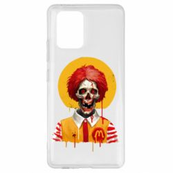 Чохол для Samsung S10 Clown McDonald's skeleton