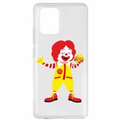 Чохол для Samsung S10 Clown McDonald's