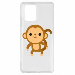 Чохол для Samsung S10 Colored monkey