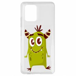 Чохол для Samsung S10 Cute green monster