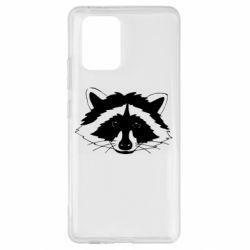 Чохол для Samsung S10 Lite Cute raccoon face