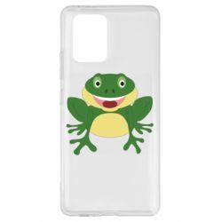Чехол для Samsung S10 Lite Cute toad