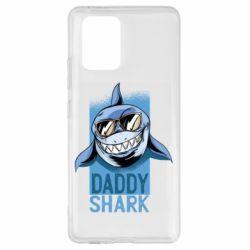Чохол для Samsung S10 Daddy shark