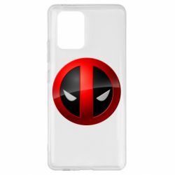 Чехол для Samsung S10 Lite Deadpool Logo