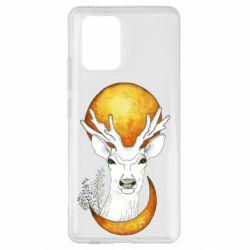 Чехол для Samsung S10 Lite Deer and moon
