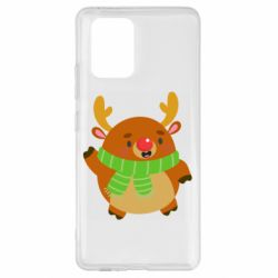 Чехол для Samsung S10 Lite Deer in a scarf
