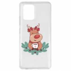 Чехол для Samsung S10 Lite Deer tea party girl