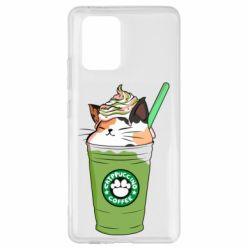 Чехол для Samsung S10 Lite Delicious cat