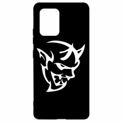 Чехол для Samsung S10 Lite Dodge demon logo