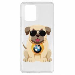 Чохол для Samsung S10 Dog with a collar BMW