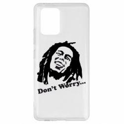 Чехол для Samsung S10 Lite Don't Worry (Bob Marley)