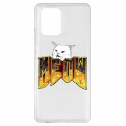 Чехол для Samsung S10 Lite Doom меов cat
