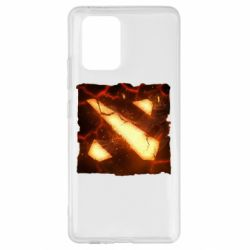 Чехол для Samsung S10 Lite Dota 2 Fire Logo