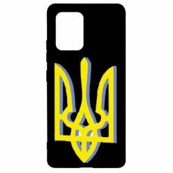 Чехол для Samsung S10 Lite Двокольоровий герб України