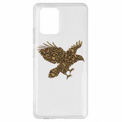 Чехол для Samsung S10 Lite Eagle feather