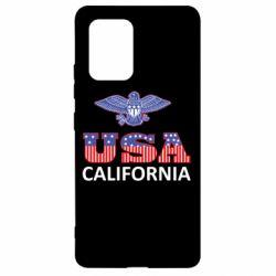 Чехол для Samsung S10 Lite Eagle USA