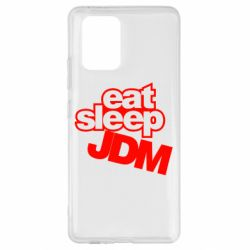 Чехол для Samsung S10 Lite Eat sleep JDM