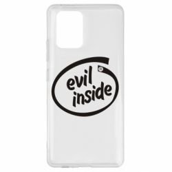 Чехол для Samsung S10 Lite Evil Inside