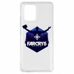 Чохол для Samsung S10 Far cry 5 silhouette Joseph Seed