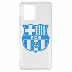 Чехол для Samsung S10 Lite FC Barcelona