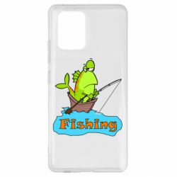 Чехол для Samsung S10 Lite Fish Fishing