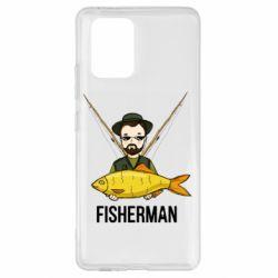 Чохол для Samsung S10 Fisherman and fish