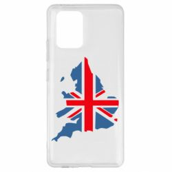 Чехол для Samsung S10 Lite Флаг Англии