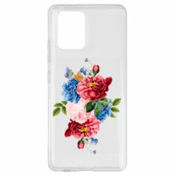 Чохол для Samsung S10 Flowers and butterfly