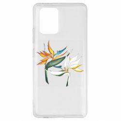 Чехол для Samsung S10 Lite Flowers art painting