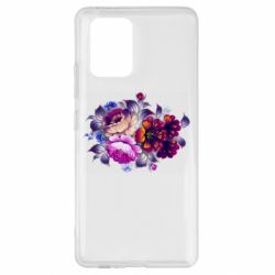 Чехол для Samsung S10 Lite Flowers in a cold shade