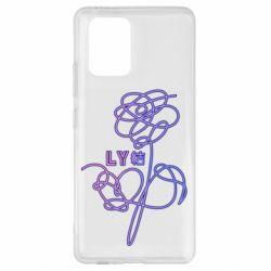 Чехол для Samsung S10 Lite Flowers line bts